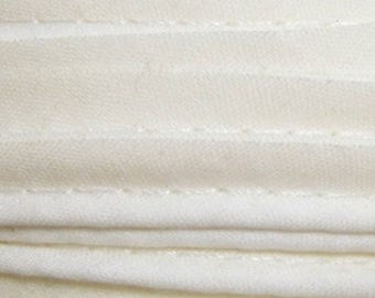 Off white / plain cotton piping 10mm wide, cut 50 cm