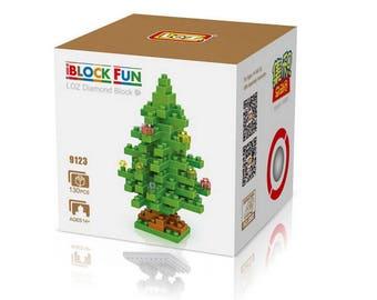 Christmas brick puzzle 130 pieces