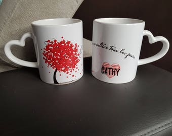 "Valentine's day mug ""the love growing every day"""