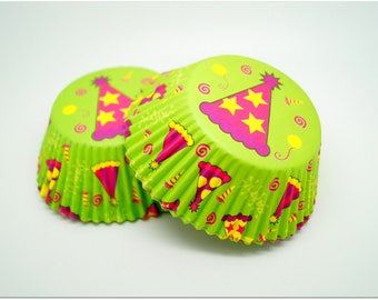 50 cupcakes liners WILTON cupcake party spirit