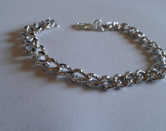simple and elegant silver bracelet