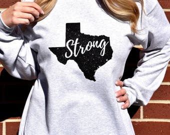 The Texas Strong Bling Sweatshirt