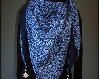 Châle trendy Blue Samarkande