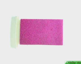 Ink color Fuchsia for stamp scrapbooking case 7.2 cm x 5.2 cm