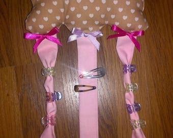 holder for hair clips