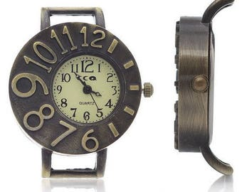 5 watch dials brass 40x32.5x8.5m (battery included)