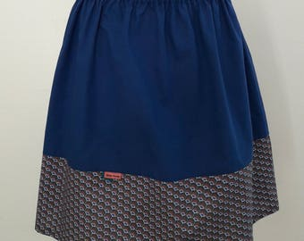 Slight waist T 38/40 cotton skirt