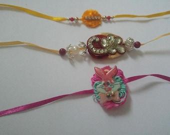 Free shipping handmade Rakhi