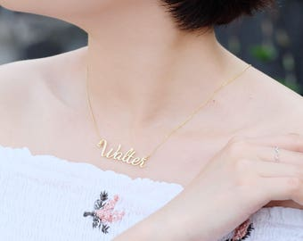 Custom Name Necklace - Personalized Name Necklace - Personalized Jewelry - Custom Name Gifts - Your Name Necklace - Bridesmaid gifts - NG11