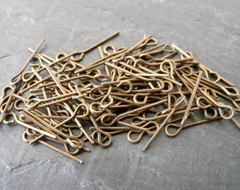 Set of 200 small studs bronze 16mm