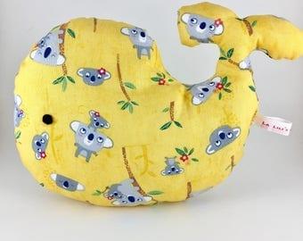 Yellow koala kawaii jungle spirit whale plushie