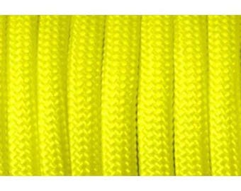 Paracord 550 type III Yellow 1 m length
