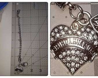 Necklace/Bracelet custom size charm
