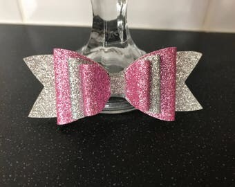 Handmade Glitter Hair Bow