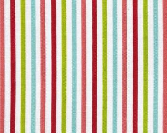 Patchwork fabric striped multicolor matryoshka by Riley Blake