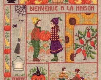 Ladies welcome October blessed Embroidery Kit