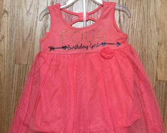 4th Birthday Girl Outfit