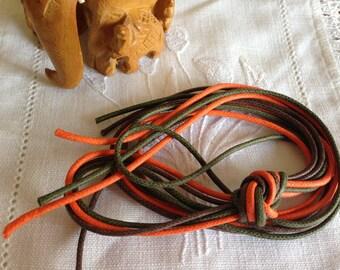 "Waxed cord trio Kit ""Fall"""