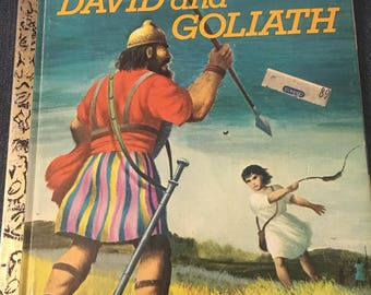 David and Goliath: A Little Golden Book 1974