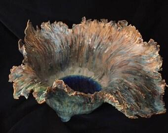 ocean sculpture - ceramic