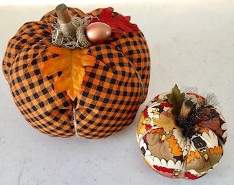 Fall Pumpkin Duo
