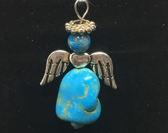 Large angel charm