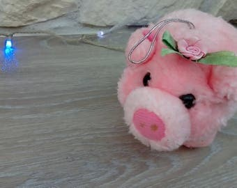 Pig soft toy for play or decoration