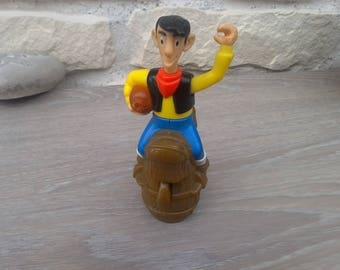 Articulated lucky Luke collector figurine