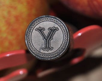 Seal for wax seal - letter Y