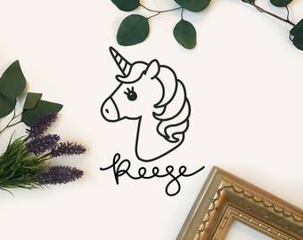 Custom Unicorn Decal