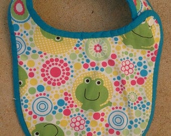 Bib birth Terry frogs collection