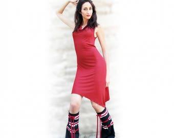 Beni Night red, very chic dress