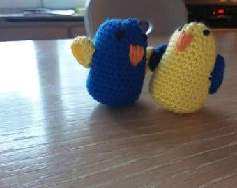 Couple love birds