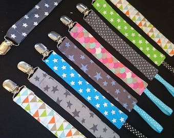 Pacifier pattern choice (polka dots, stars, flower...)