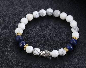 Handmade Gemstone Beaded Bracelet