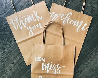 Customizable Paper Bag/Customizable Gift Bag