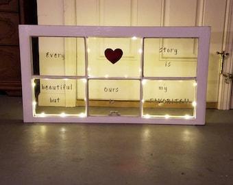 Love Story Window