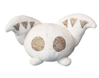 Original plush white ears