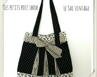 Bag #romantique in black # shabby chic vintage