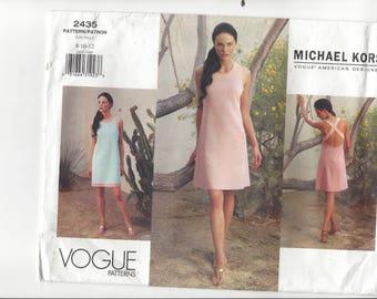 MICHAEL KORS VOGUE American Designer Pattern #2435