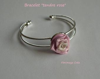 """Romantic and elegant bracelet """"tender rose"""""""