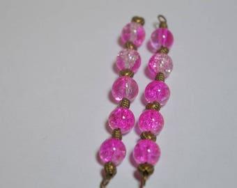Set of 2 handmade pendants