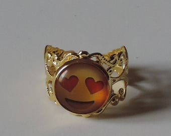 """Golden ring """"I'm in love with you"""""""