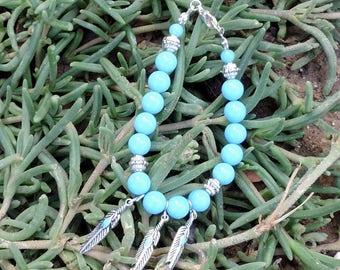 The lucky lady Zuni bracelet