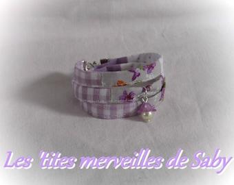 """liberty style bracelet ' lilac spirit"""