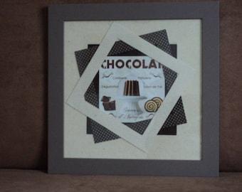 CHOCOLATE CAKE FRAME