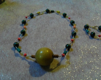 "set gorgeous ""ball"" (necklace and bracelet) multicolor"