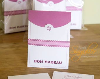 Pochette & Carte cadeau - Packaging