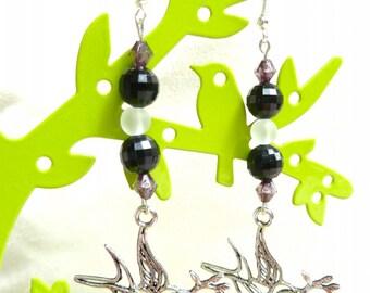Earrings Dove (bird)