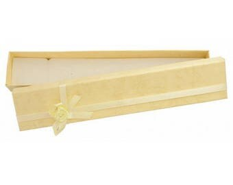 Jewelry case for bracelet and anklet - beige